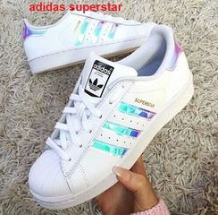 new style d19ba 95dbc ... Adidas Superstar tornasoladas ...