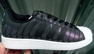 zapatillas adidas mujer superstar negras