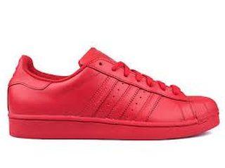 adidas superstar mujer rojas