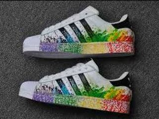 adidas superstar blancas, adidas superstar multicolor
