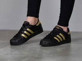 best website 8fd94 95210 ... adidas superstar negra y dorada ...