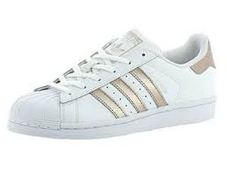watch e155f f47be adidas superstar blanca y dorada ...